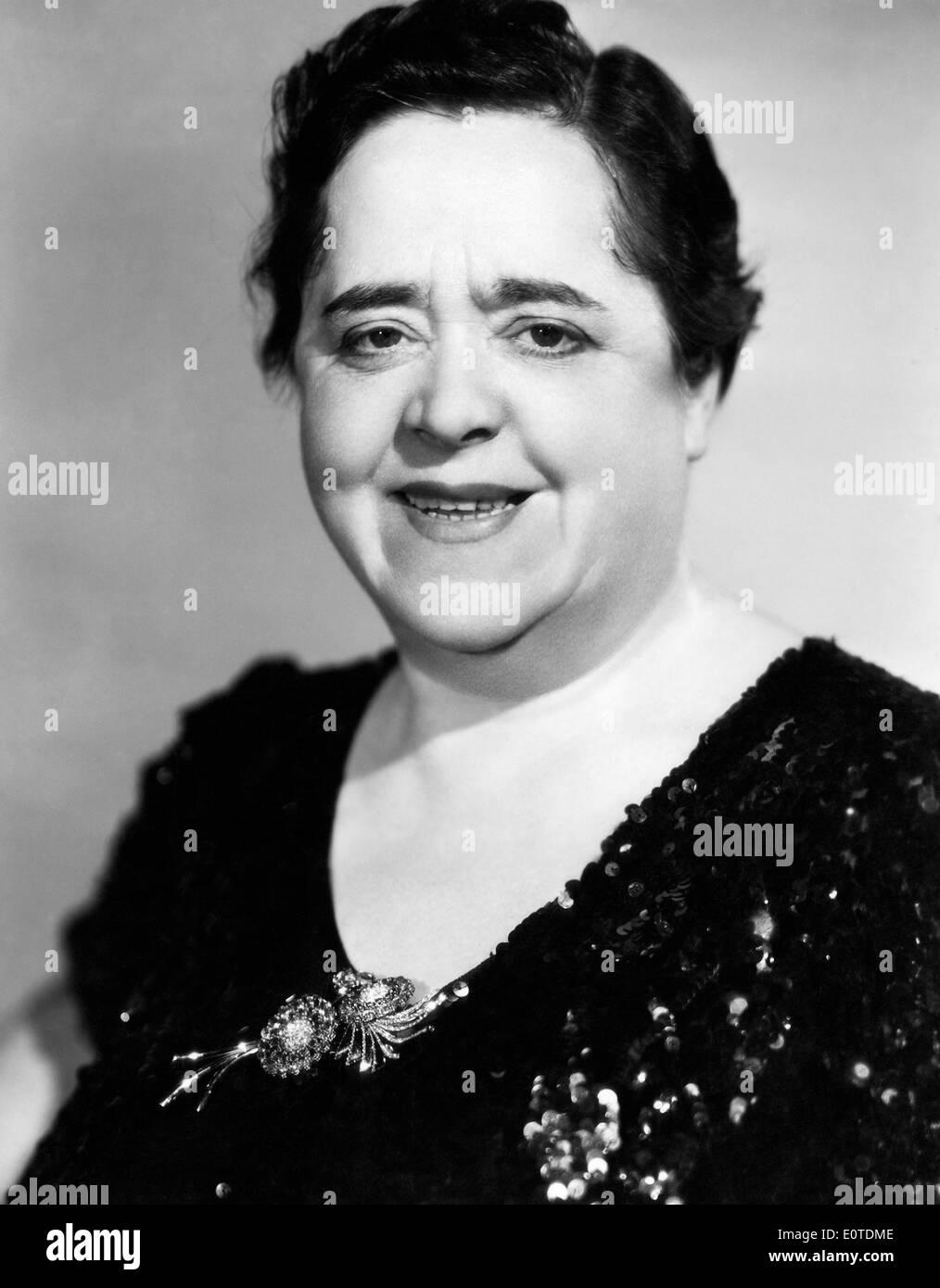 Elsa Maxwell, American Gossip Columnist and Social Hostess, Portrait, 1939 - Stock Image