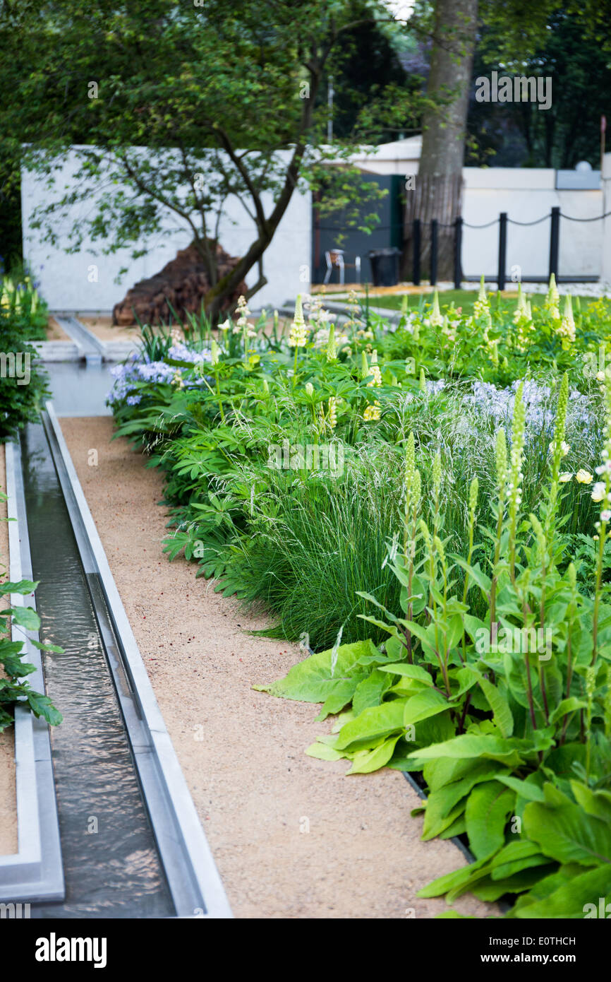 London, UK. 19th May 2014. The RHS Chelsea Flower Show 2014. The Royal Hospital, Chelsea, London, UK. 19th May 2014. Stock Photo