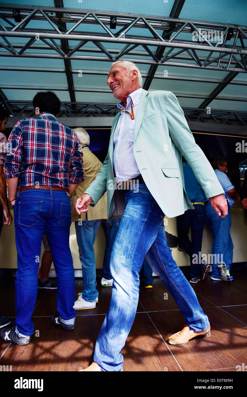 Formula One Grand Prix of Spain 2014 -- Red Bull Racing Team owner Dietrich Mateschitz - Stock Image