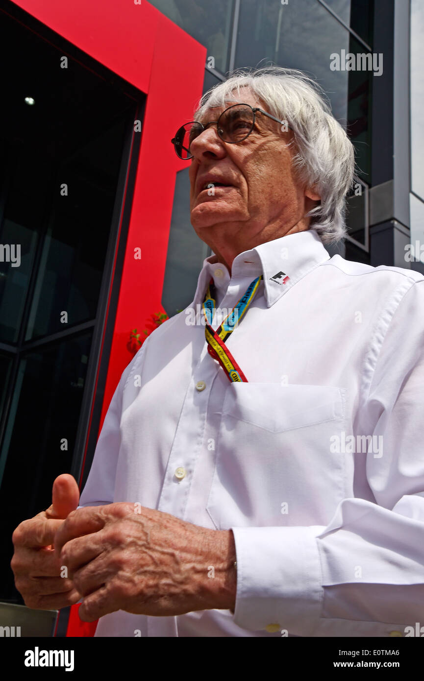 Formula One Grand Prix of Spain 2014 ---- Formula 1 Boss Bernie Ecclestone (GBR) - Stock Image
