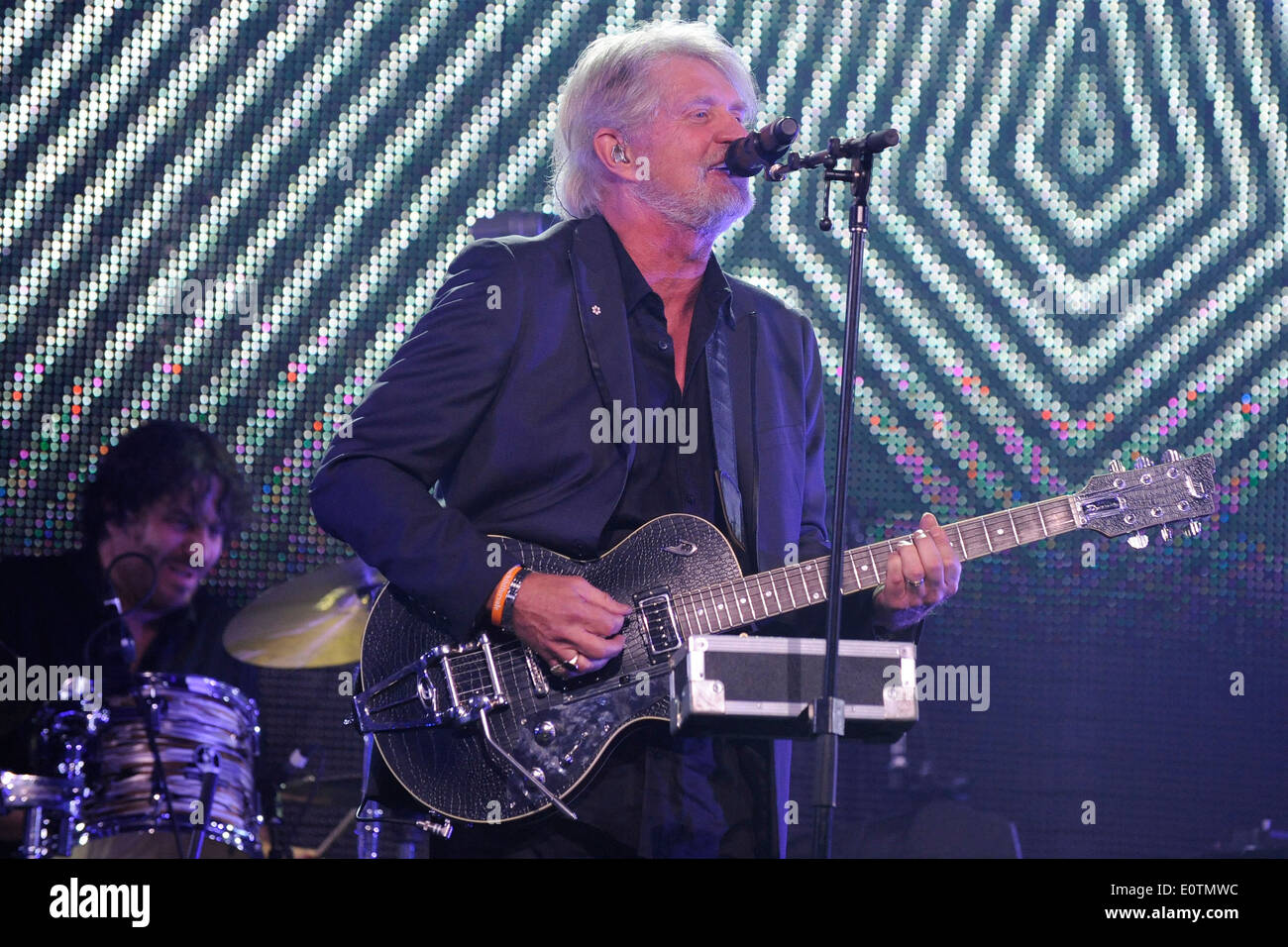 Tom Cochrane performs at the Canadian Music and Broadcast Industry Awards during the 2014 Canadian Music Week in Toronto. - Stock Image