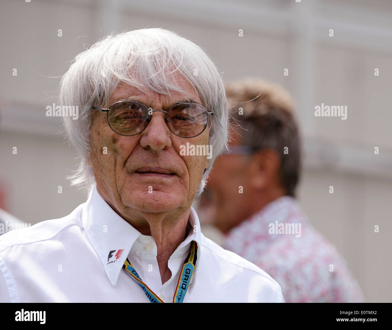 Formula One Grand Prix of Spain 2014 ---- Formula 1 Boss Bernie Ecclestone (GBR) - Stock Image
