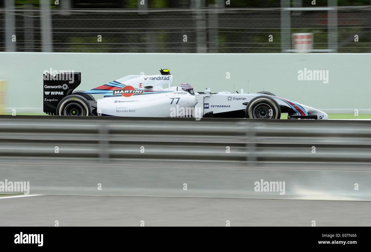 Formula One Grand Prix of Spain 2014 ---- Valtteri Bottas (FIN), Williams FW36 - Stock Image