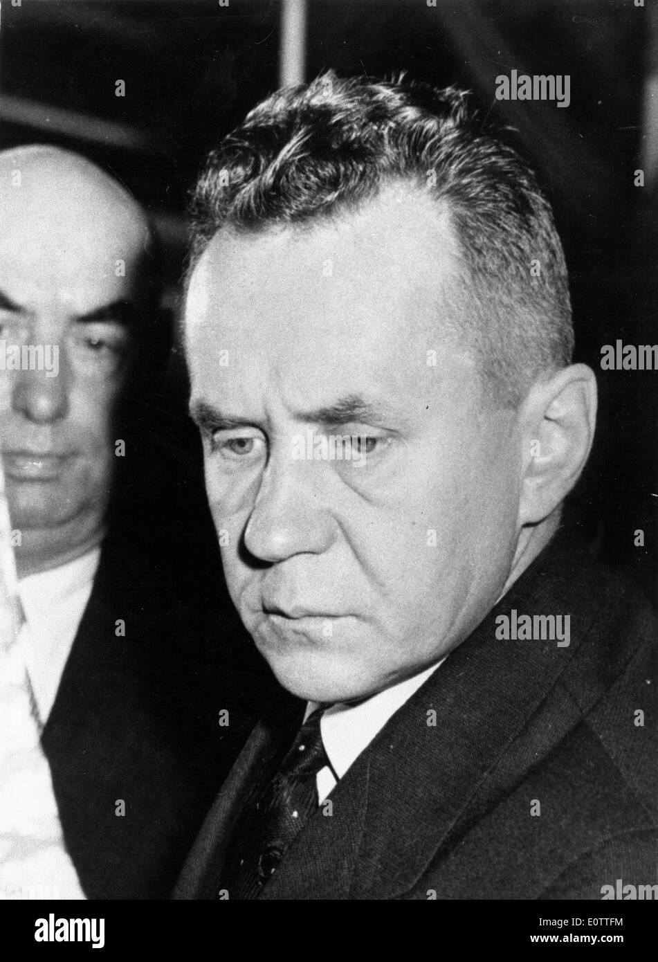 Soviet-Russian statesman Alexei Kosygin - Stock Image