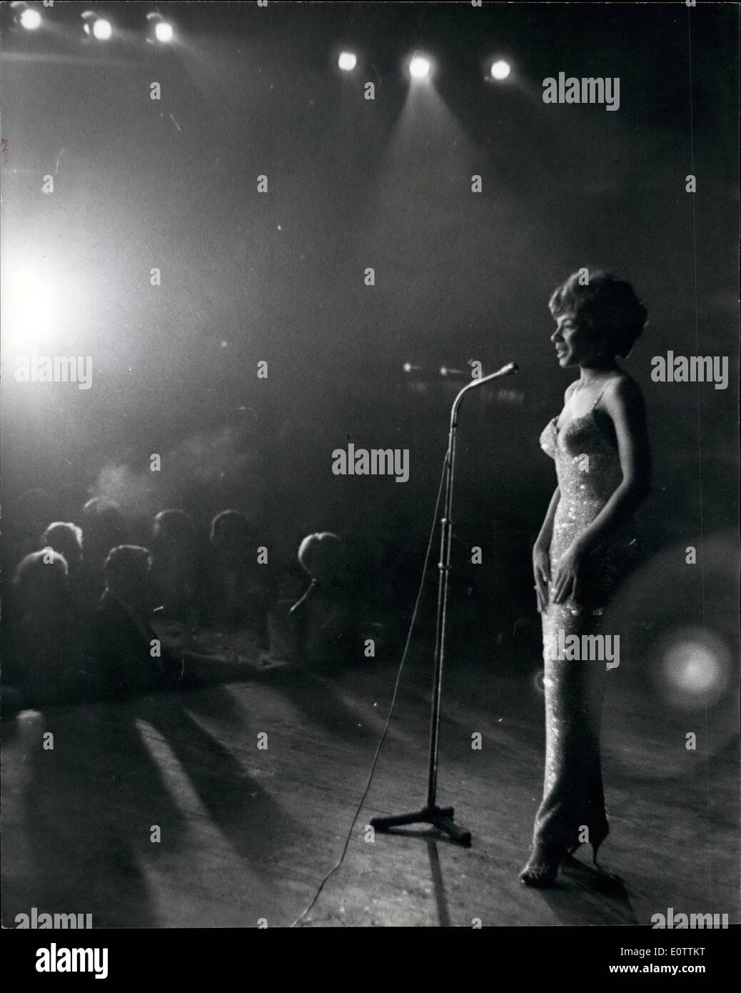 16d83b826e9 Sep. 09, 1960 - Shirley Bassey opens at the Pigalle at £1,000 a ...