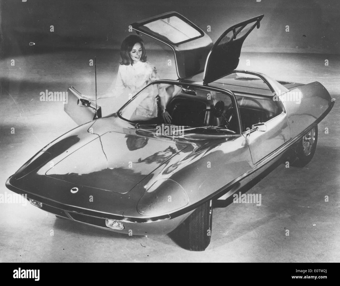 1960 Centaur Piranha CRV-II Sports car - Stock Image