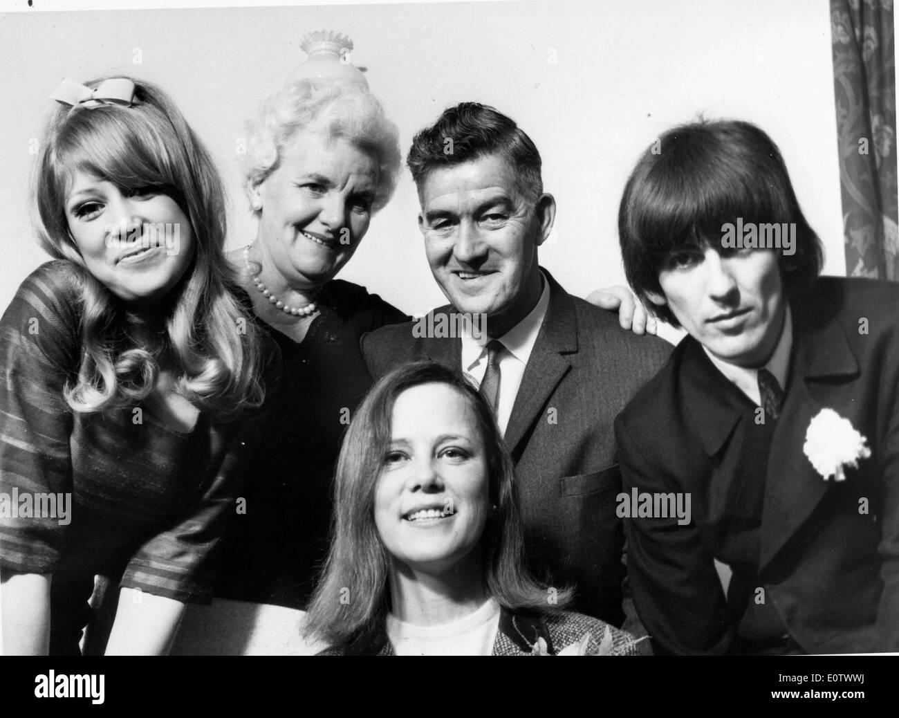 Beatle George Harrison With Wife Pattie Boyd