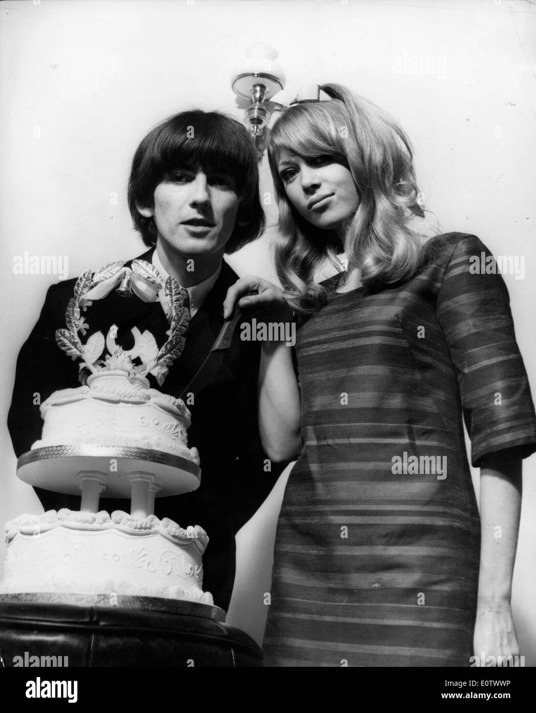 Beatle George Harrison And Pattie Boyd Wedding
