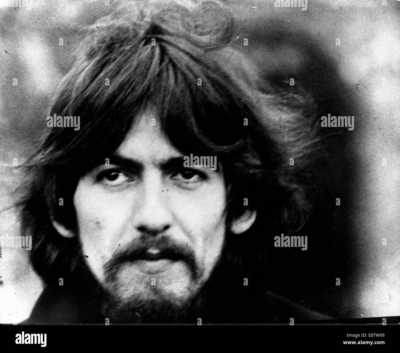 Close Up Of The Beatles Guitarist George Harrison
