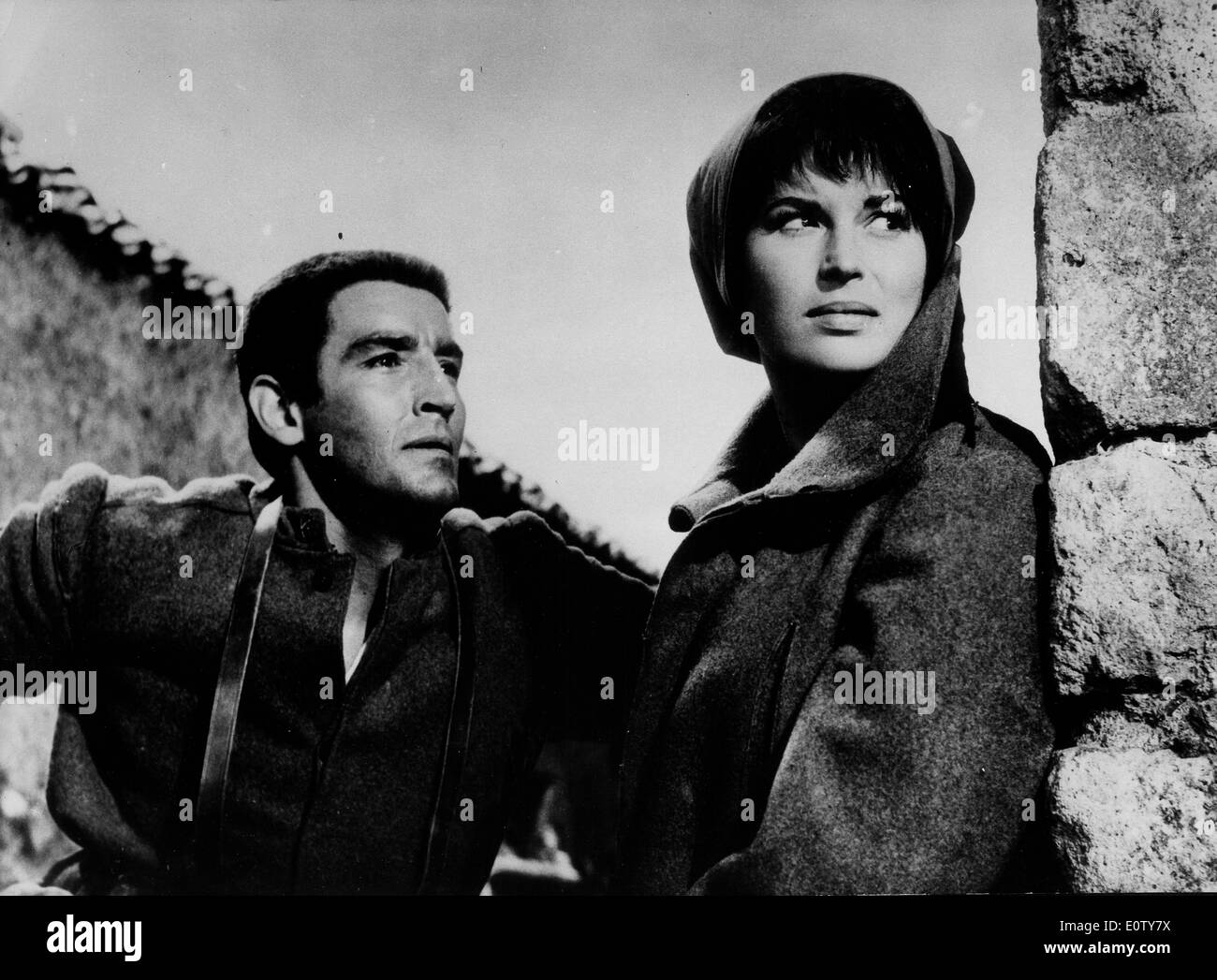 Actress Silvana Mangano in a scene from a film - Stock Image