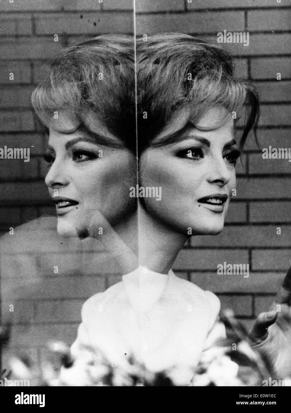 Actress Virna Lisi in a scene from 'The Sweet Ladies' Stock Photo