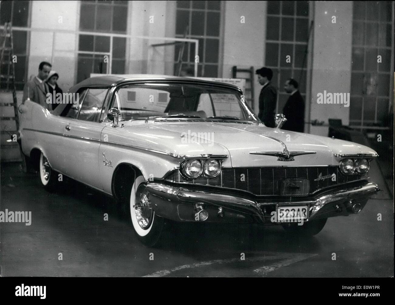 Jan. 01, 1961 - A ~15.000 Wonder Car At Brussels Motor Show: A Stock ...