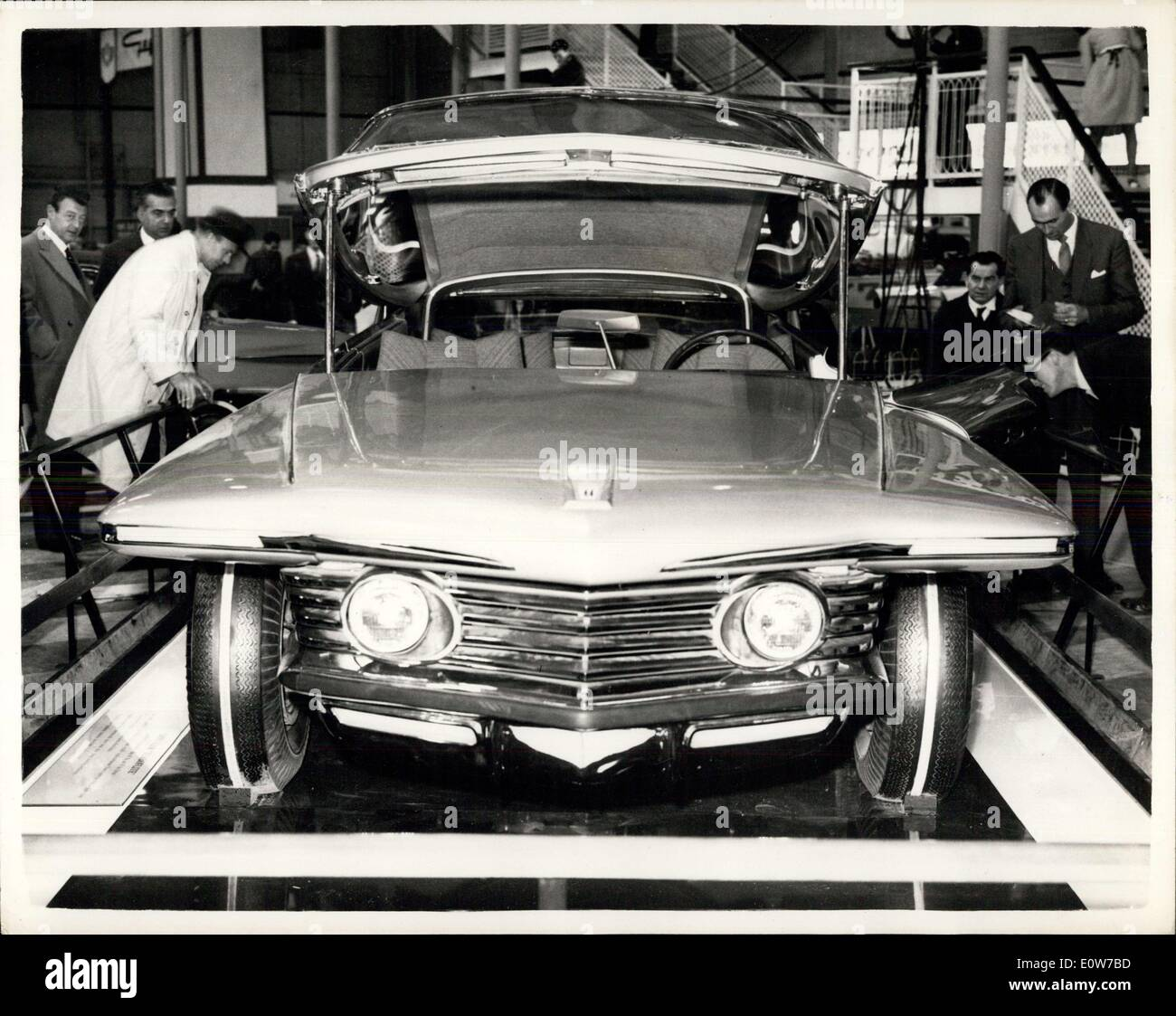 Oct. 17, 1961 - Motor Show Opens at Earl's Court - The Motor Show Opened This Morning at Earl's Court, London - Stock Photo
