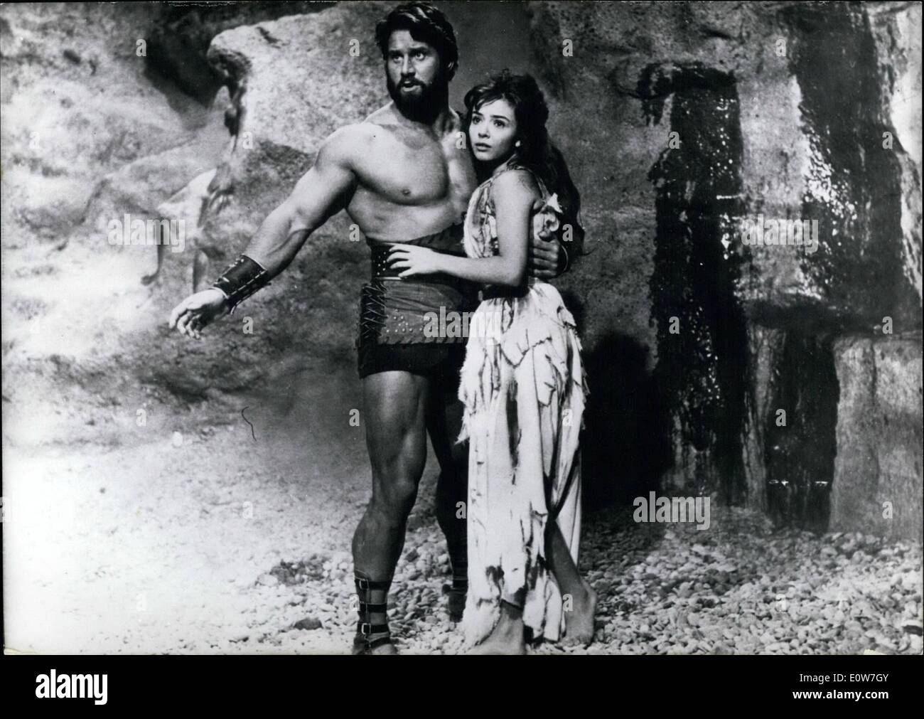 Dec. 12, 1961 - ''Hercules conquers Atlantis'': Under this title, the so far most monumental film of the Greek heroe legend was - Stock Image