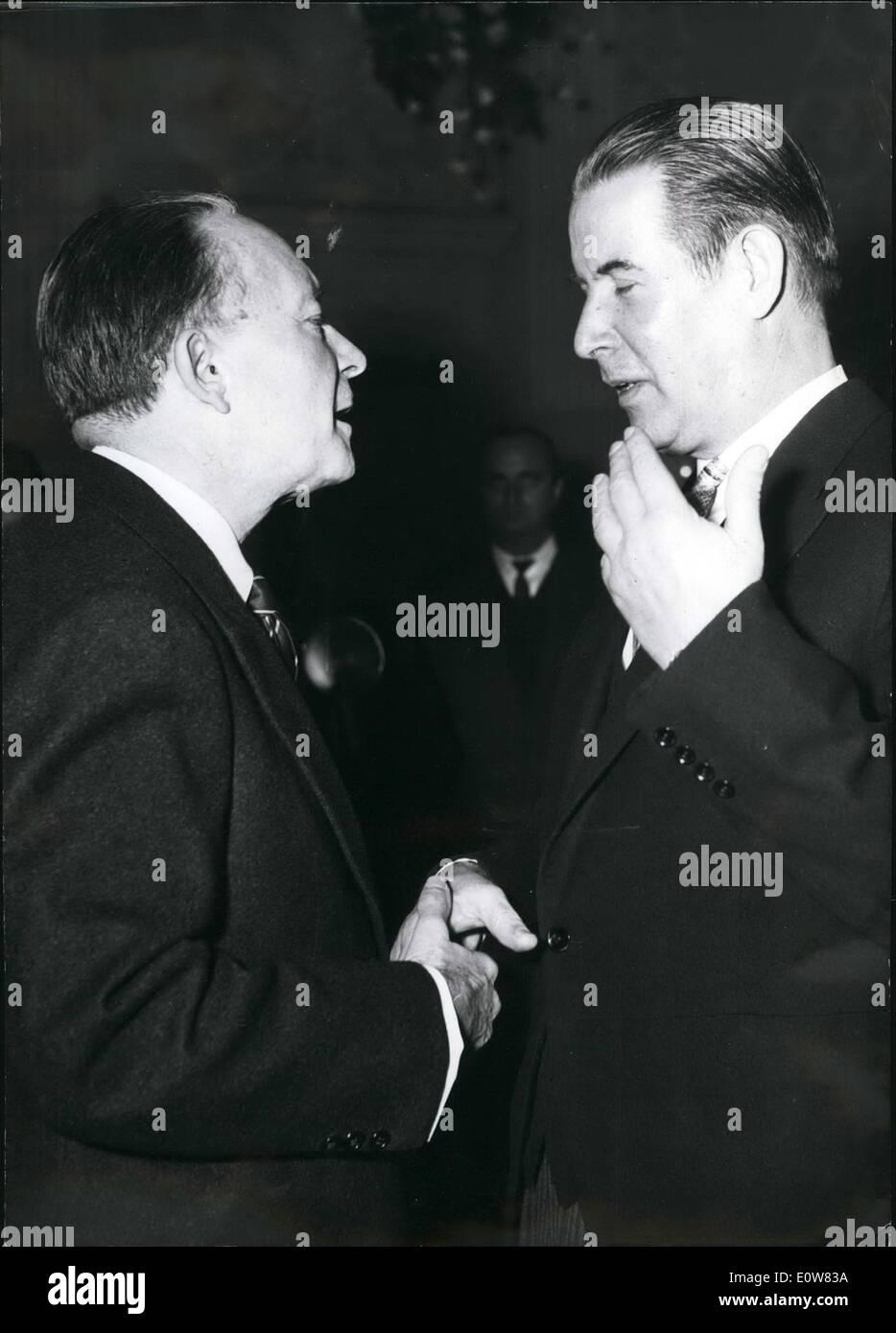 11 1961 first reception of dr gerhard schroder in his property - Gerhard Schroder Lebenslauf