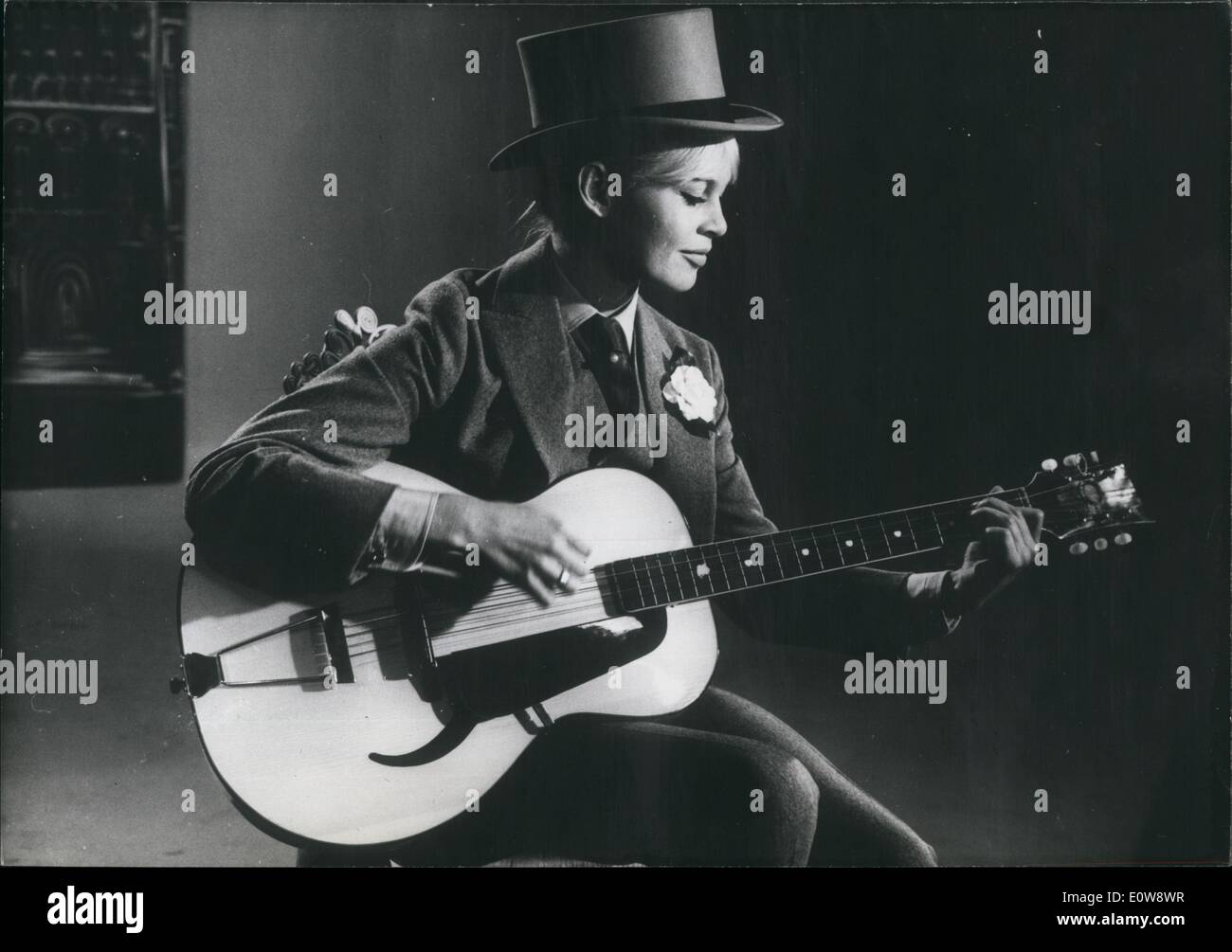 Dec  12, 1961 - Brigitte will sing songs while playing the