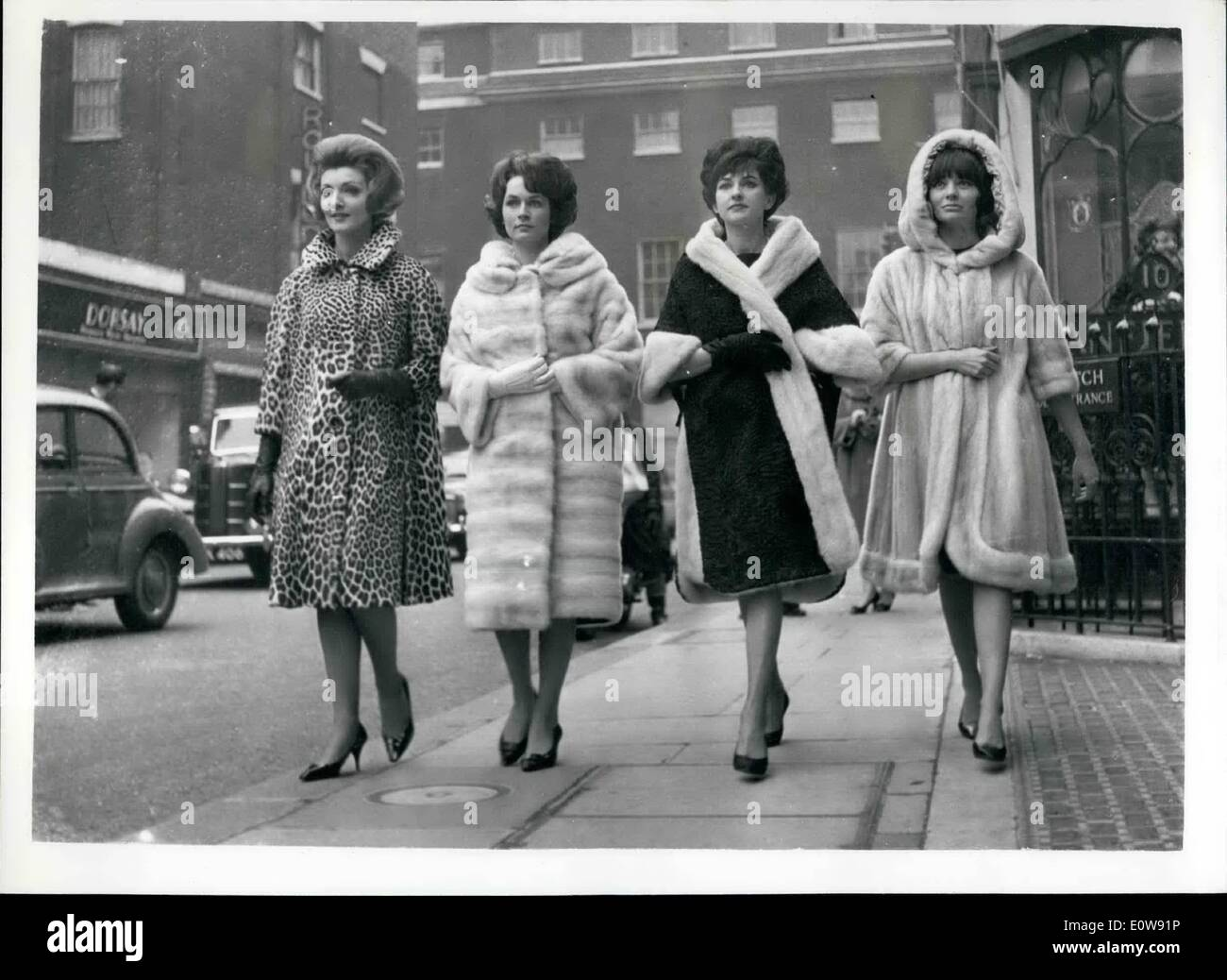 Feb. 02, 1962 - London Furs will be shown at Gala evening: Furs by ...