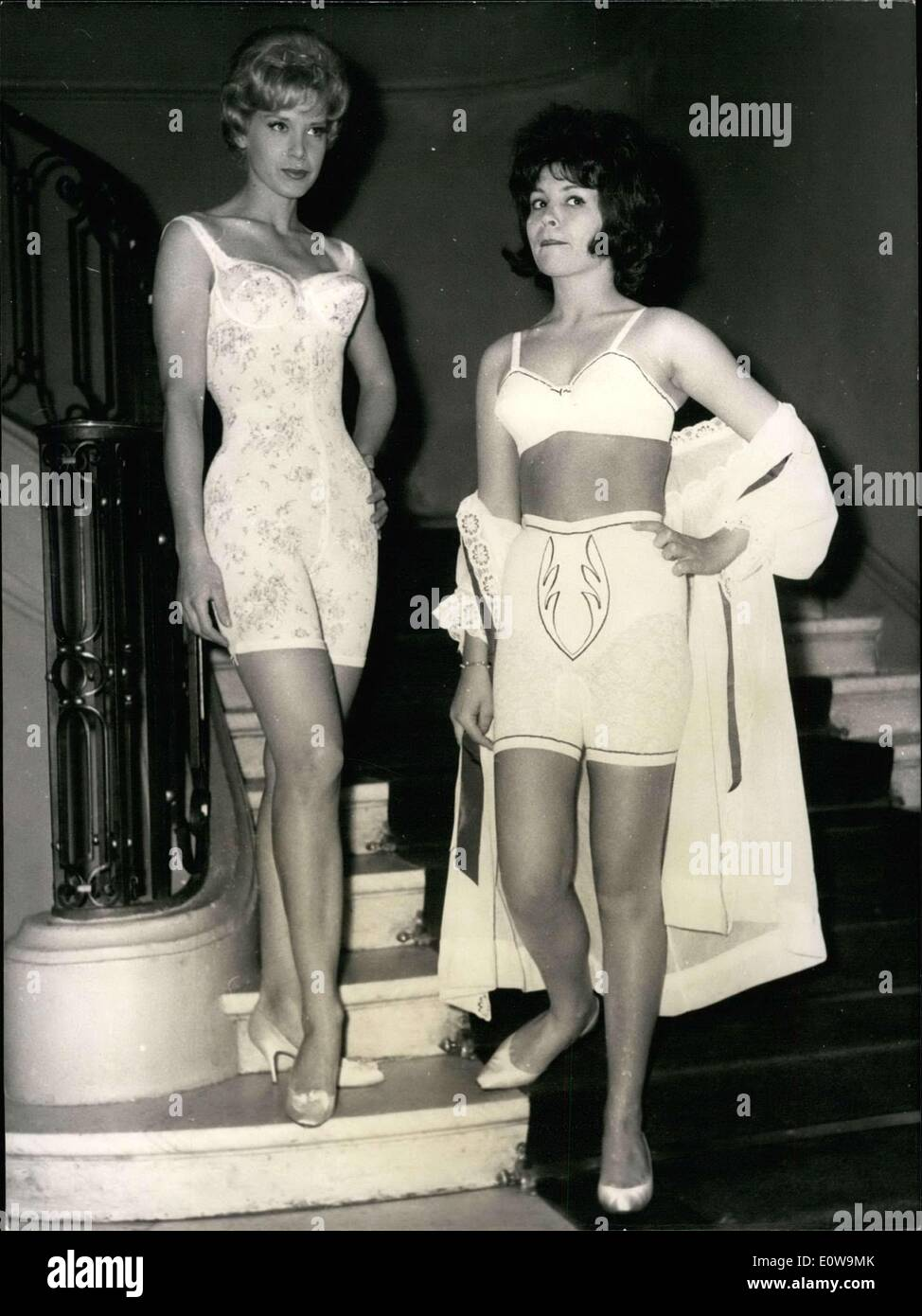 28, 1962 - Only corsets, girdles, and bras were featured in