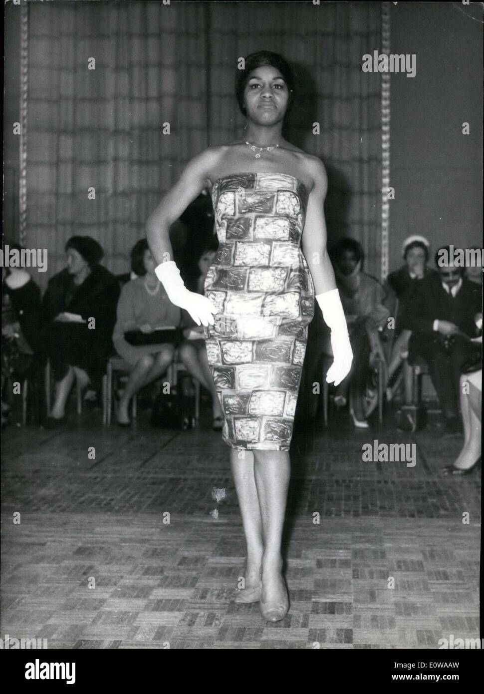 Mar 12 1962 Nisas Was The First Black Designer In Paris He Is Stock Photo Alamy