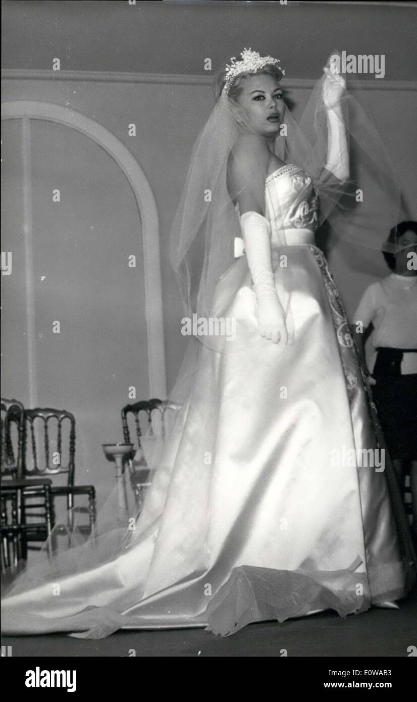 Mar. 13, 1962 - She will marry publicist Francis Bonnet next Friday. - Stock Image