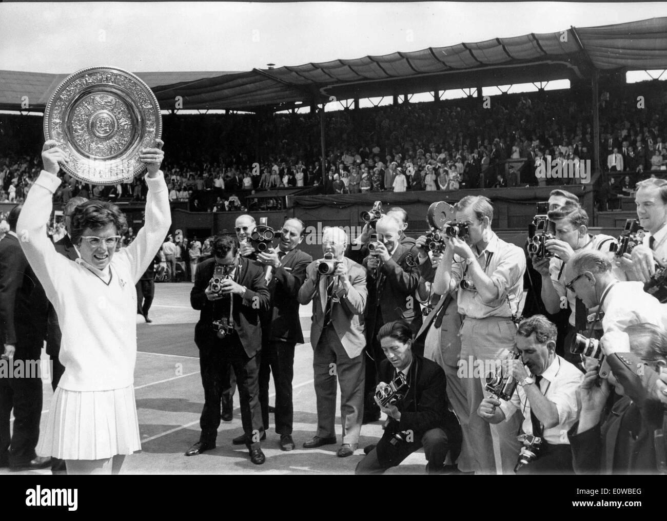 Watch Billie Jean King 12 Grand Slam singles titles video