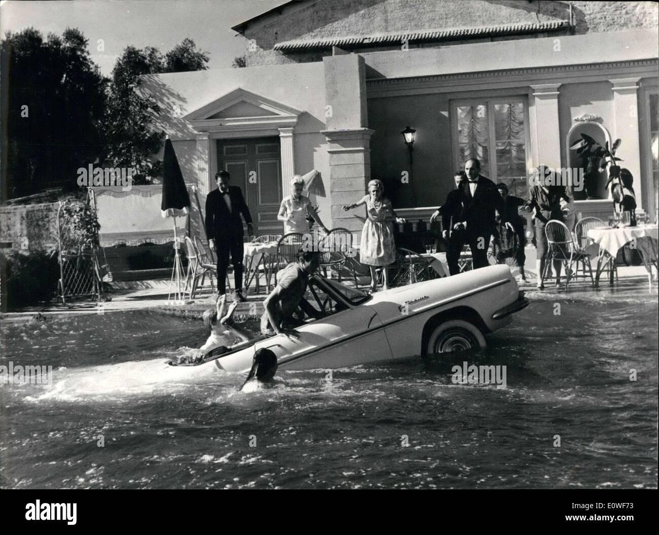 Oct. 13, 1962 - Pierre Montazel directed the movie. - Stock Image