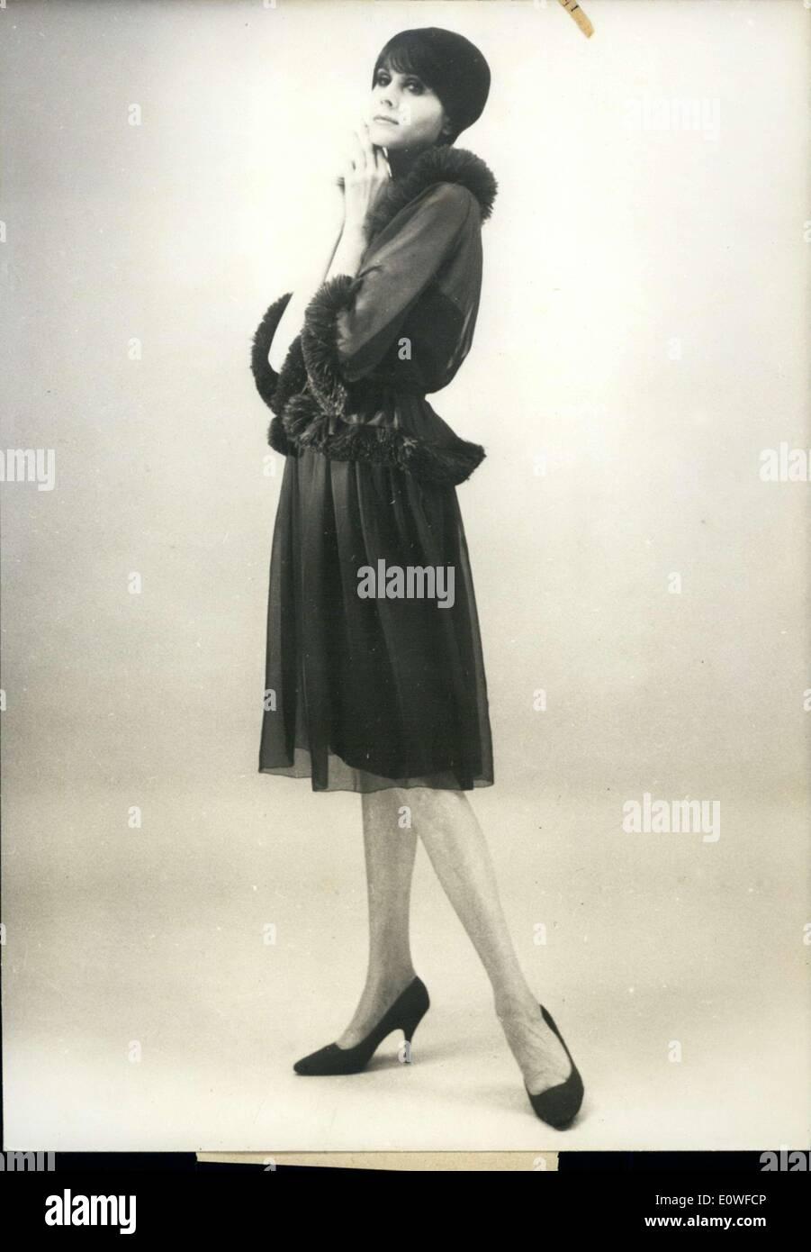 Aug. 10, 1962 - Lanvin=Castillo Titled Volupte - Stock Image