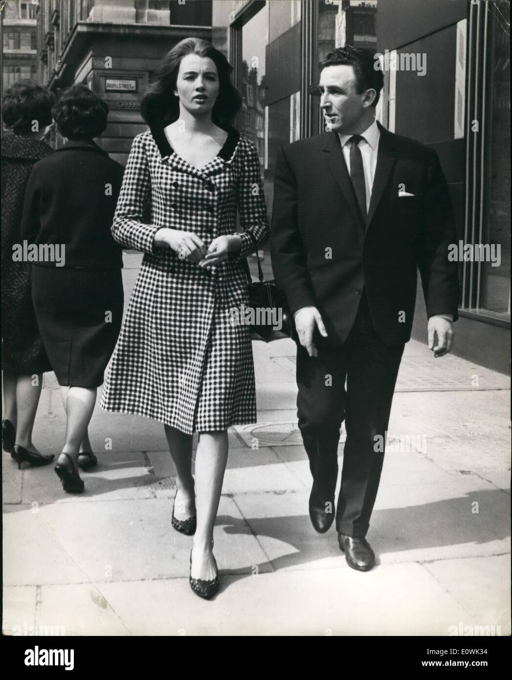 Apr 04 1963 Christine Keeler In Court Once More Model