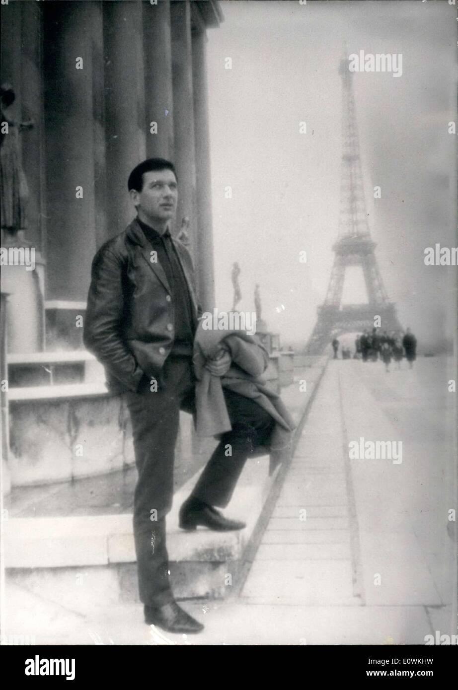 Apr. 19, 1963 - Serge Bernier Called Jean Murat - Stock Image
