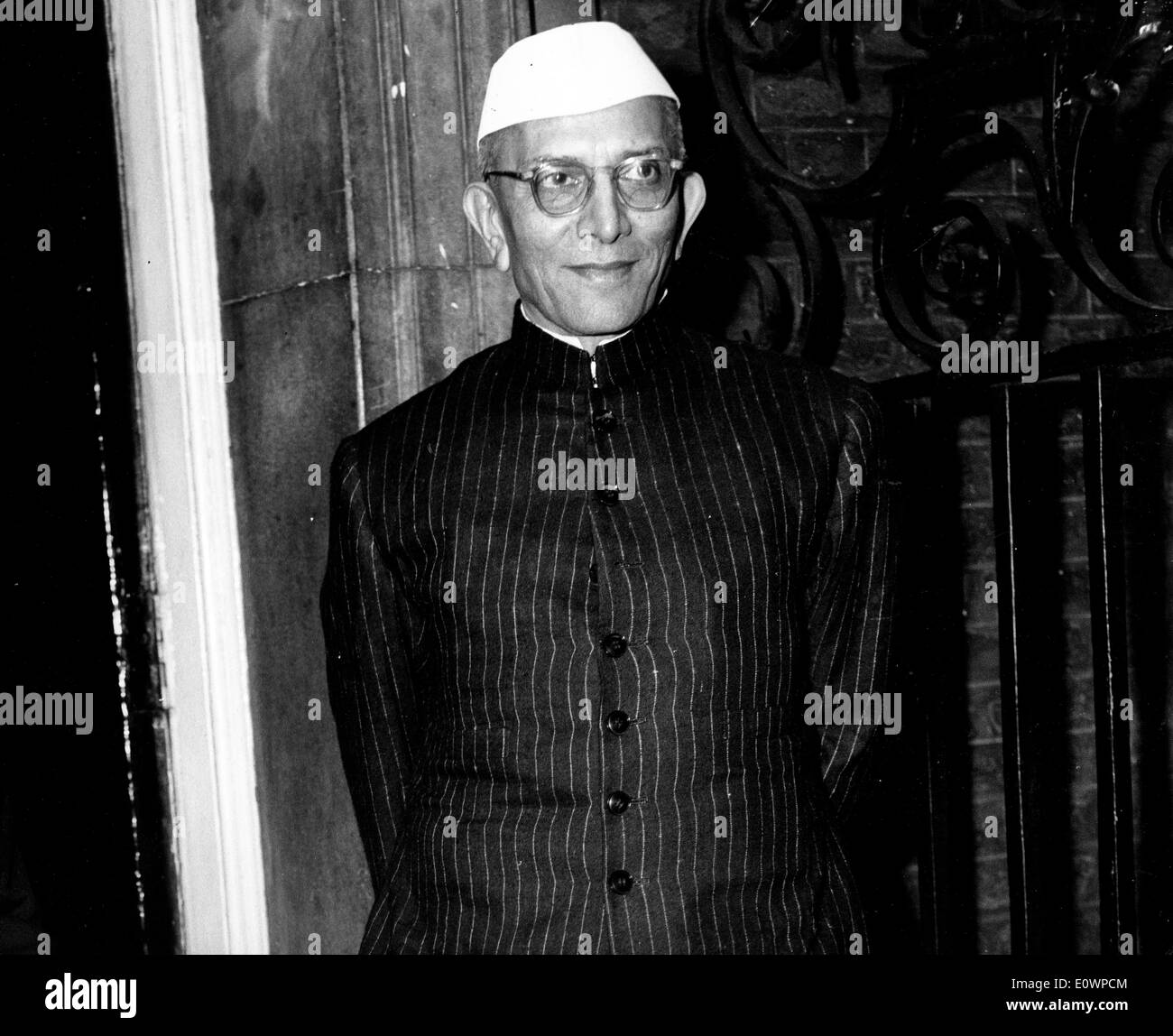 Jan. 01, 1964 - File Photo: circa 1960s, location unknown. MORARJI RANCHHODJI DESAI (29 February 1896 Ð 10 April 1995) was an Indian independence activist and the Prime Minister of India from 1977-79. He was the first Indian Prime Minister who did not belong to the Indian National Congress. He is the only Indian to receive the highest civilian awards from both India and Pakistan, the Bharat Ratna and Nishaan-e-Pakistan. - Stock Image