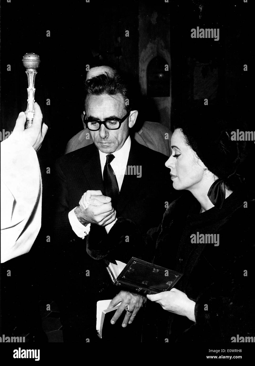 Nov 31, 1963 - La Colle-sur-Loup, France - (File Photo) HENRI-GEORGES CLOUZOT, was a French screenwtiter, director, - Stock Image