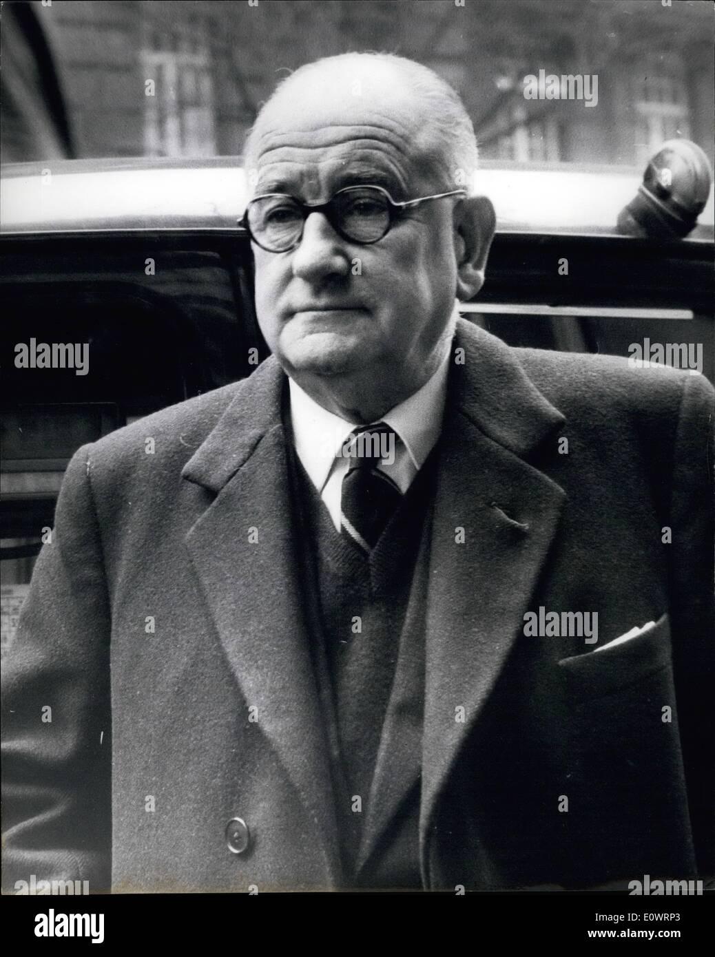 Feb. 02, 1964 - Herbert Wilcox to Make Royal Film: Film chief Herbert Wilcox is to make a film about the life of - Stock Image