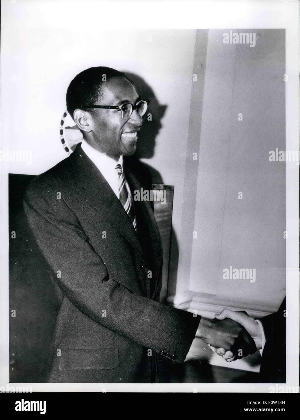 Apr. 04, 1964 - Basutoland Talks In London: Who Paramount Chief of Basutoland Motlotlehi Moshoeshoe II, who is likely - Stock Image
