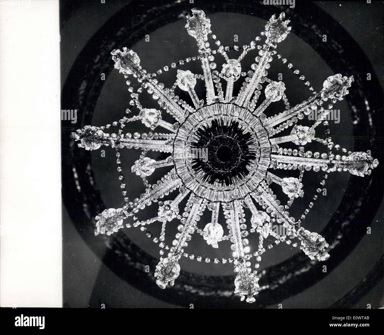 Feb. 13, 1964 - ''Snowflake'' at the Lord Mayor of London Mansion House. - Stock Image