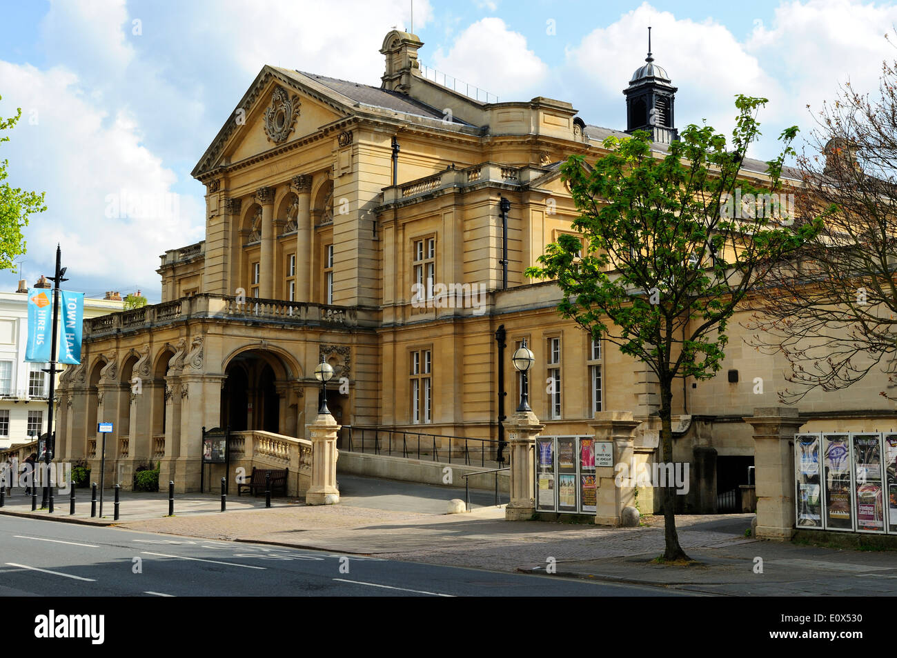 The Town Hall, Cheltenham, Gloucestershire, England - Stock Image