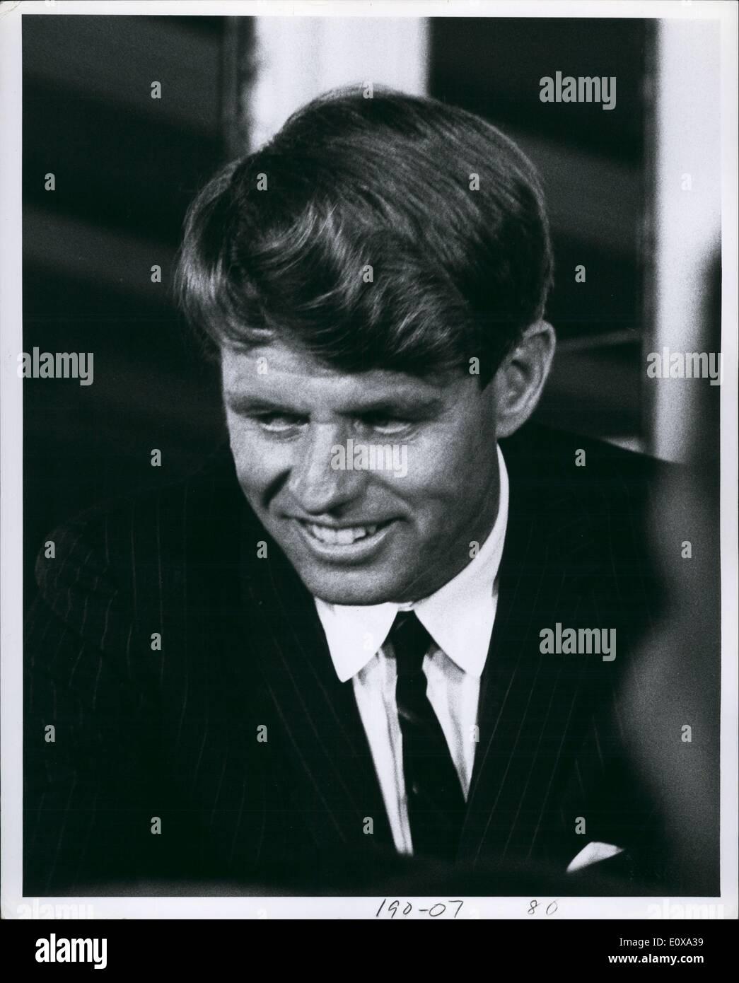Dec. 00, 1966 - Rfk at Samuel Silverman Campaign New York 1966. - Stock Image