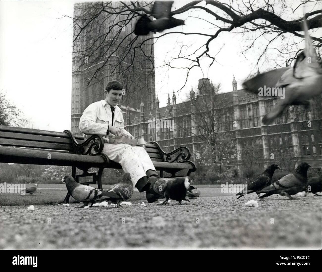 Apr  13, 1966 - Applying Bird Repellent at Parliament : A