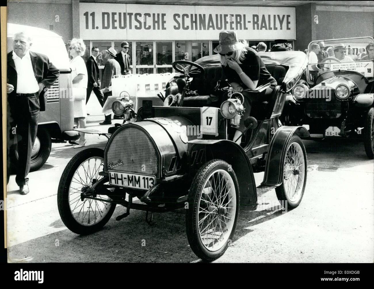 Jun. 11, 1966 - 141 auto veterans took part in the 11th Schnauferl ...
