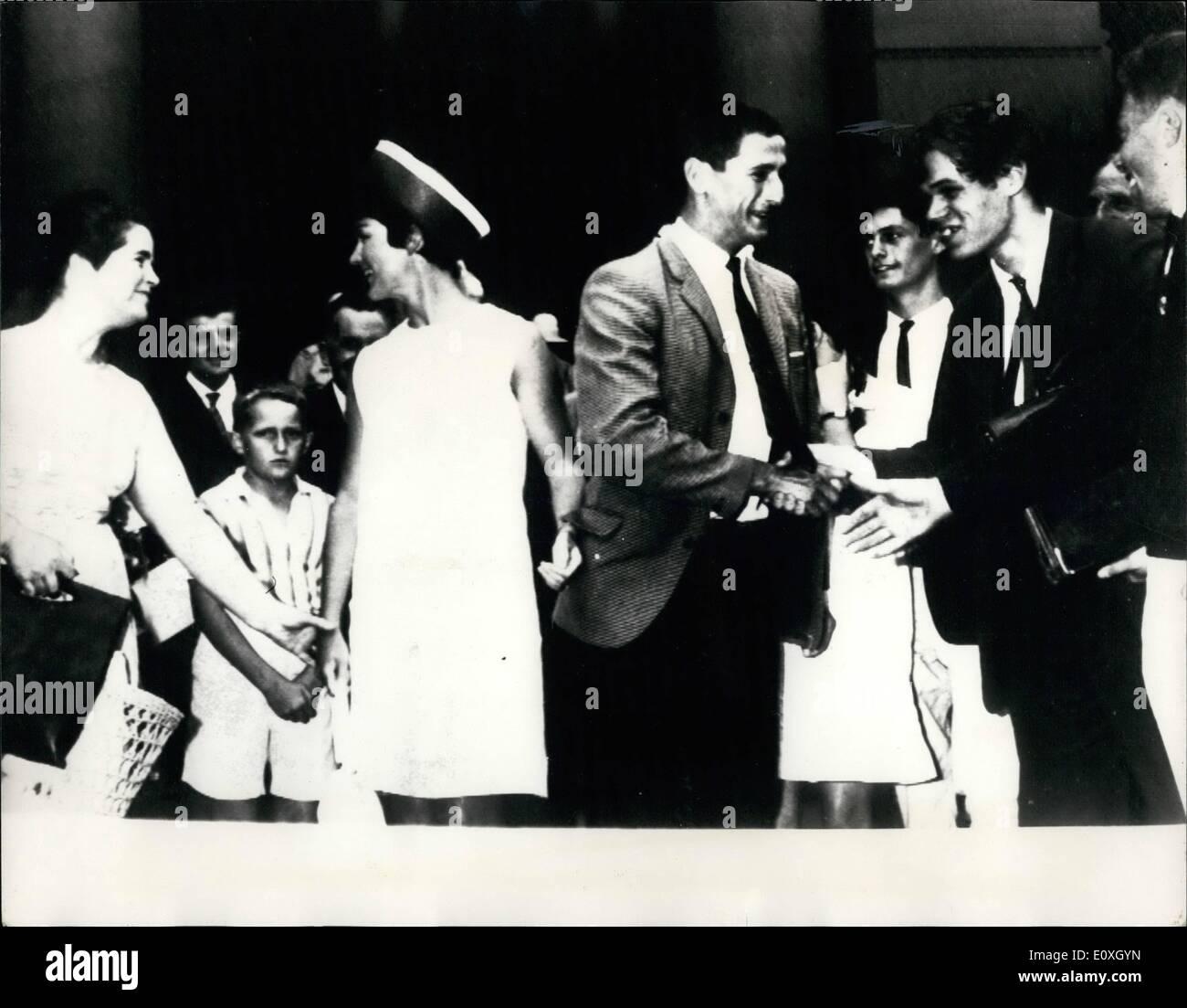 Dec. 12, 1966 - Australian Conscientious Objector Wins Exemption Army Service: Australian conscientious objector, Stock Photo