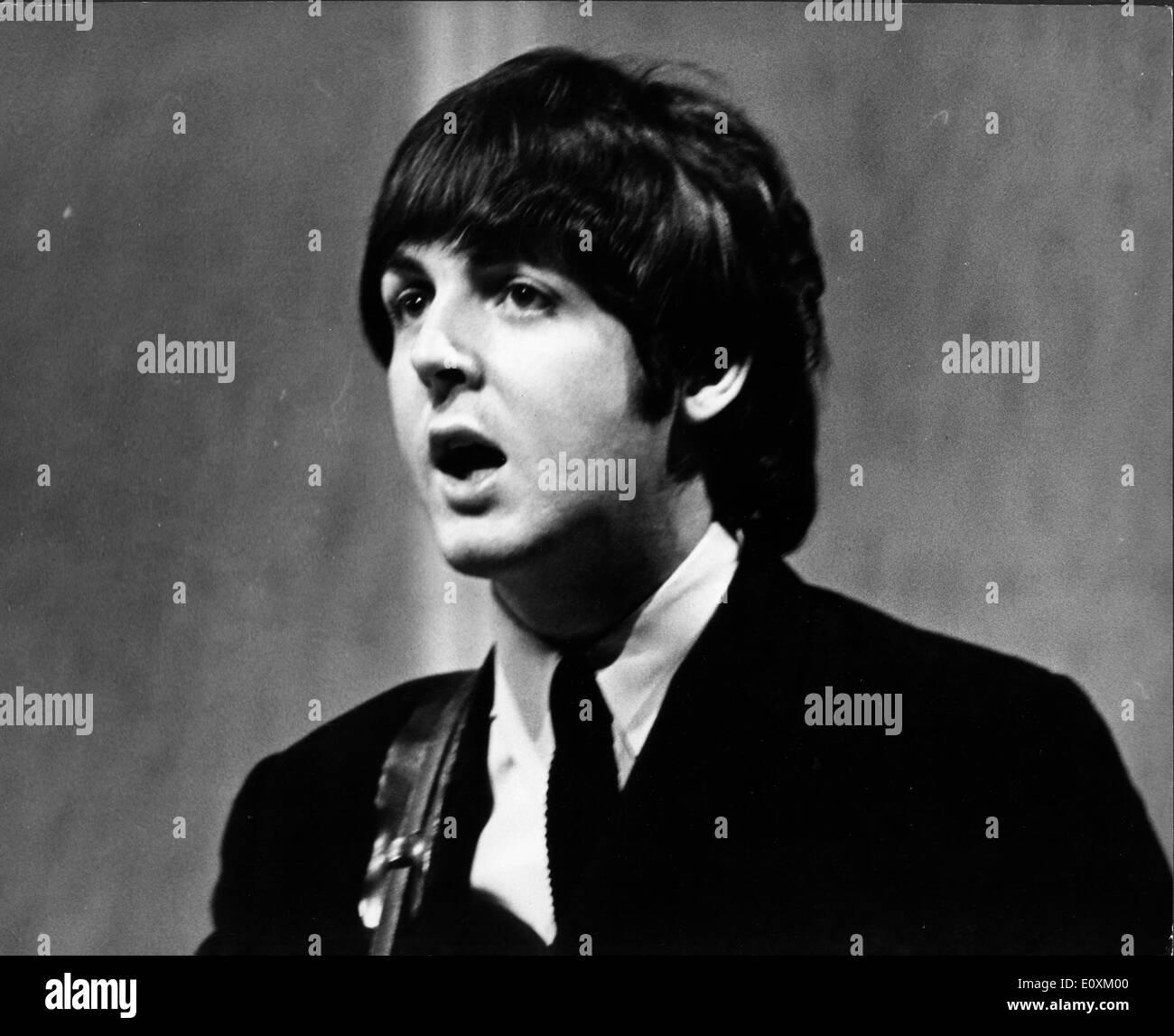 The Beatles Paul McCartney Singing