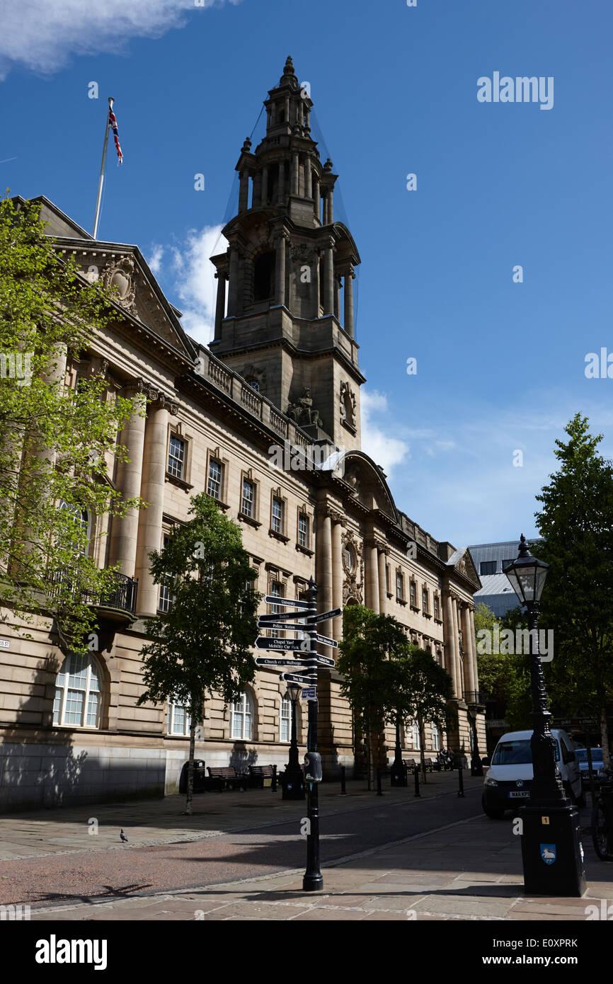 The sessions house courthouse Preston England UK - Stock Image