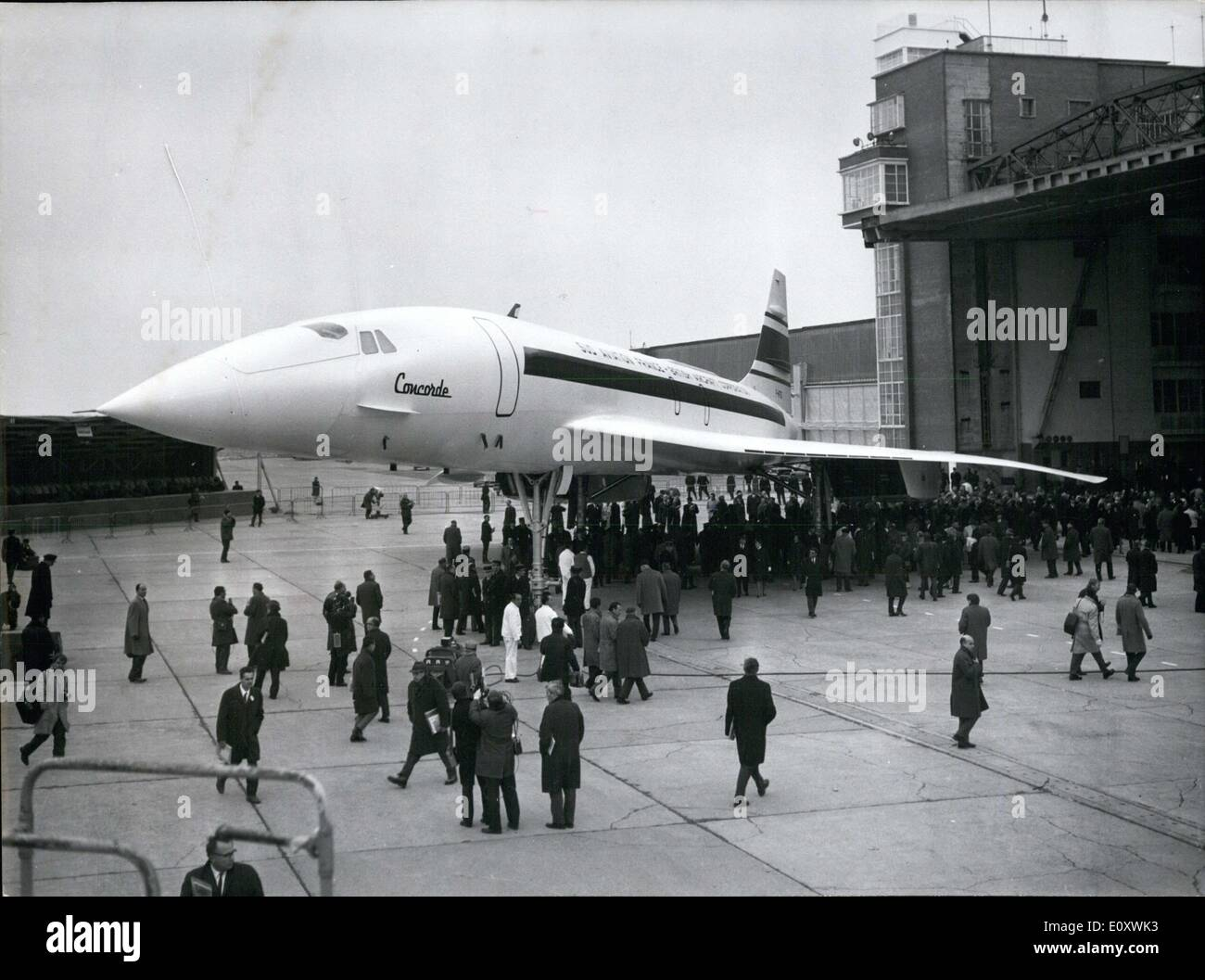 huge selection of f71a5 40206 12, 1967 - First Flight of Concorde Jet to Take Place in February