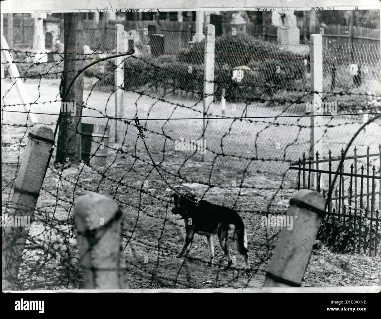 Jan 01 1968 The Berlin Wall Photo Shows A Familiar Sight To