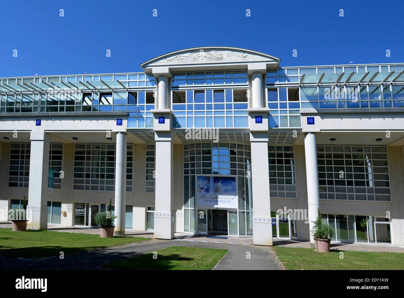 Spa, les Celestins, Vichy, Allier, Auvergne, France. - Stock Image