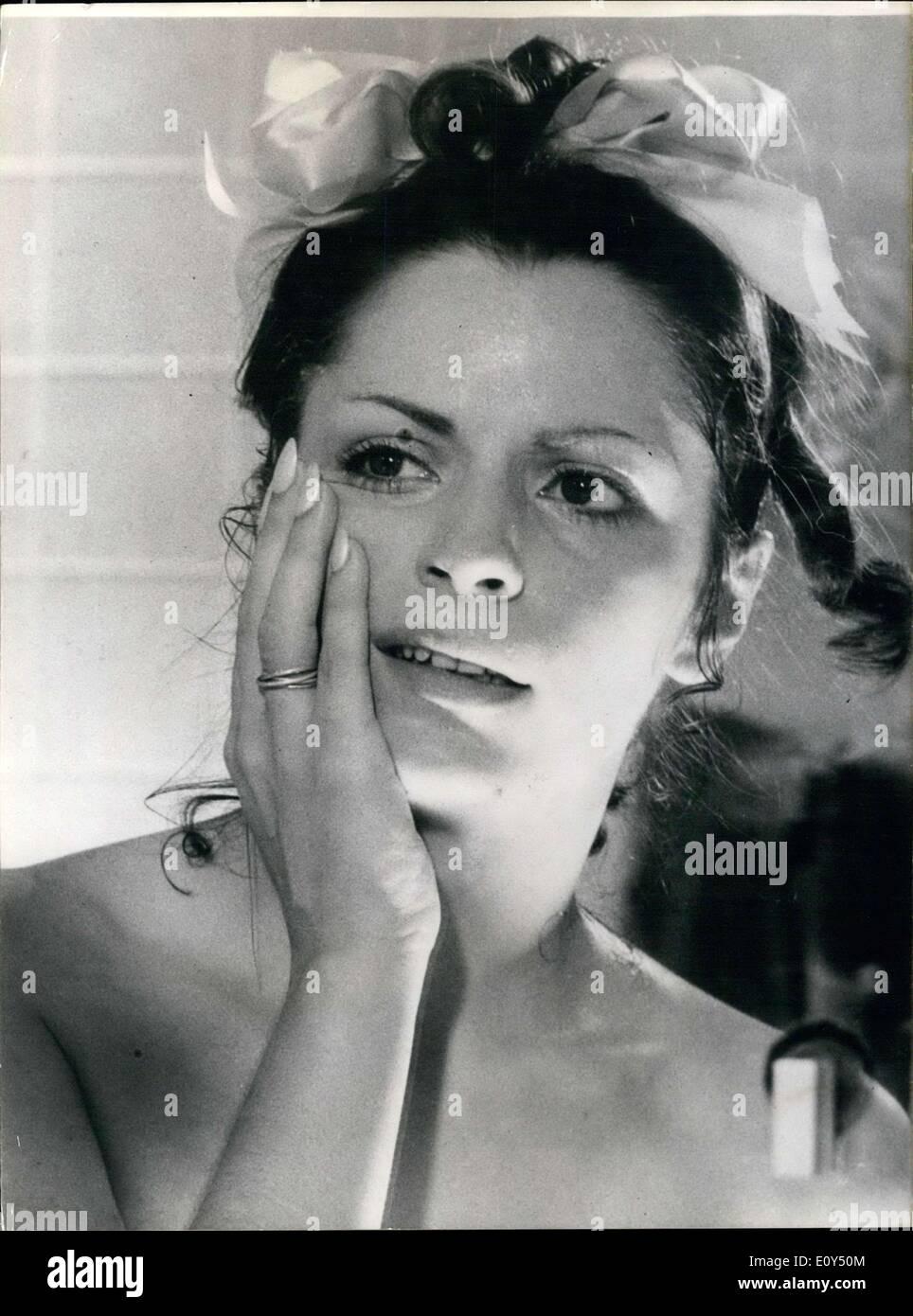 Nov. 05, 1968 - Danielle Palmero in ''Emmanuelle' - Stock Image