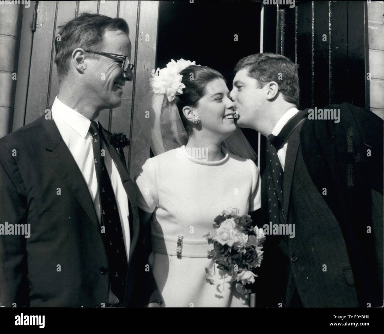 Oct 10 1969 A Roosevelt Weds London Girl Mrs Philip James