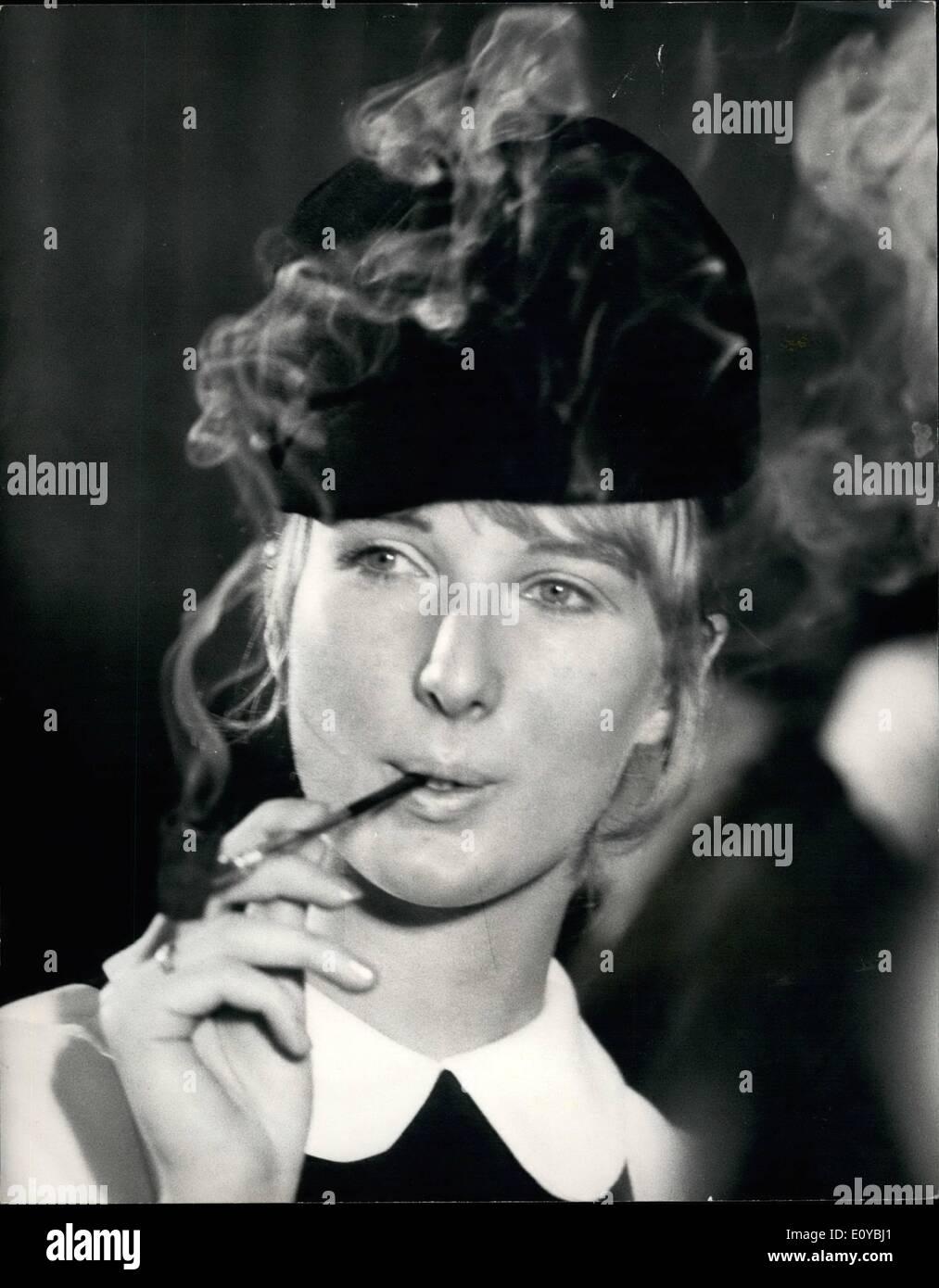 Women Smoking A Pipe