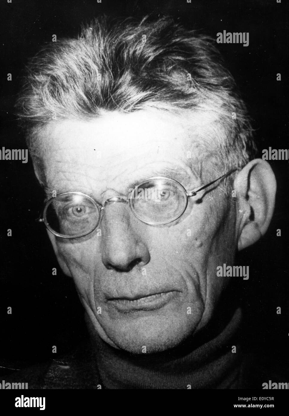 Writer Samuel Beckett wins 1969 Nobel Prize - Stock Image