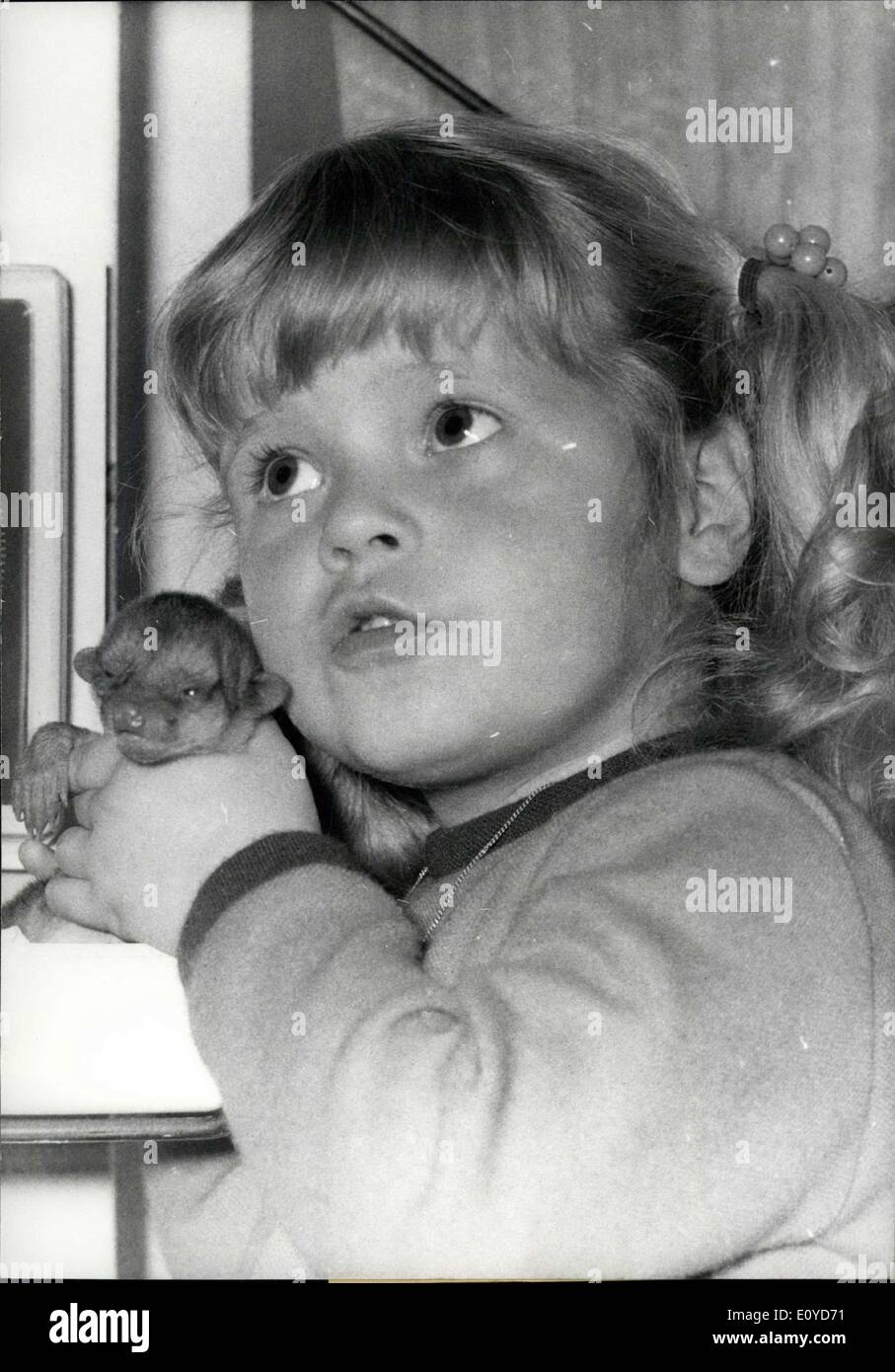 Dec. 10, 1969 - AS tiny as toy bear.....is the little bear that was born in the Berlin Zoo a week ago. It is so Stock Photo