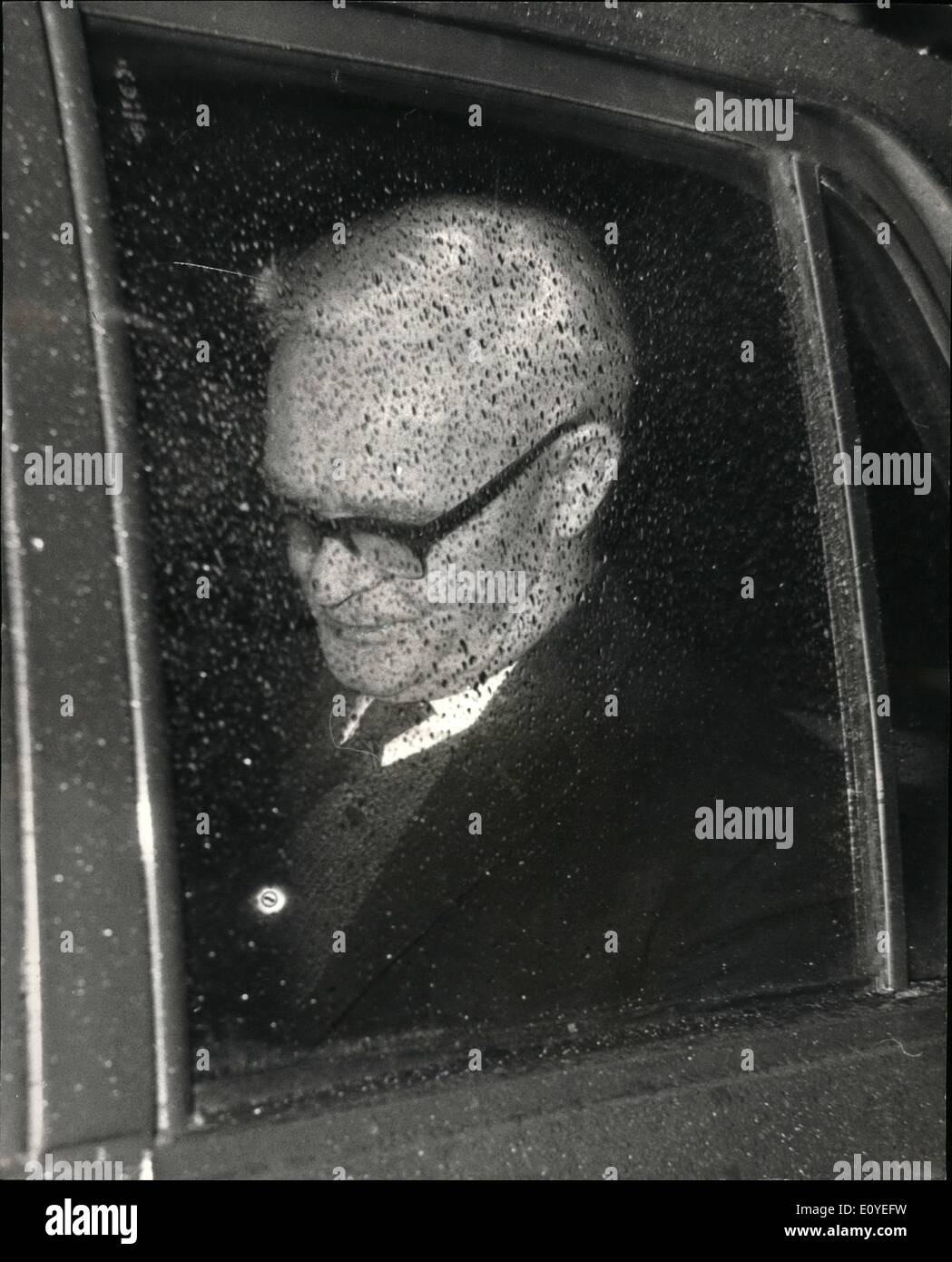Jan. 01, 1970 - Mp arrested under the official secrets act Mr. William James Owen 68 years old labour mp for the norpeth division of northumberland was arrested last night and charged under the official secrete act. He is appearing at bow-street magistrates conce in London this morning. and was put on reamand untill monday. Mr.owen an ex-miner is chariman of london - based Berolina travel a company which promotes toriem, and travel in communicst east germany - Stock Image